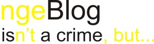blog is a crime