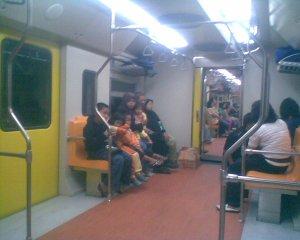 Suasana di Kereta Banyubiru--foto tahun 1429 H